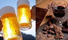 H κατανάλωση κρασιού, μπύρας και σοκολάτας αυξάνουν το προσδόκιμο ζωής